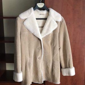Beautiful never worn suede coat